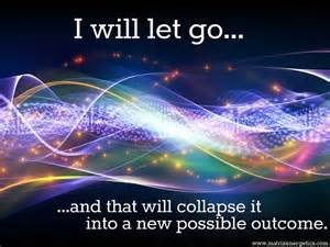 let go...about outcome